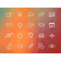 GAMIFICATION ICON SET