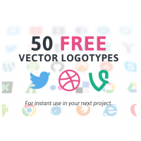 50 VECTOR LOGOTYPES