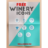 WINERY ICONS SET