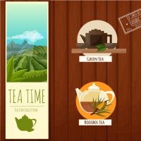 TEA TIME ICONS FREEBIE