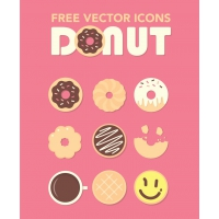 DONUTS ICONS FREEBIE