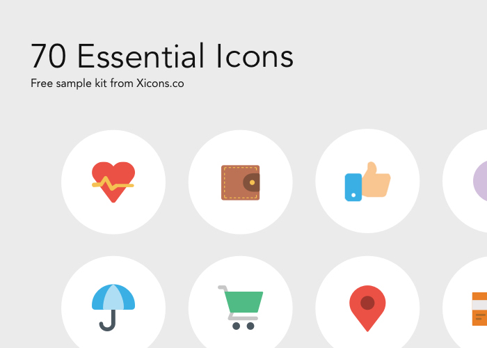 XICONS ESSENTIAL ICONS FREEBIE