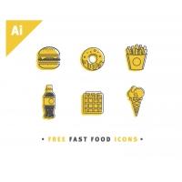 VINTAGE FAST FOOD ICONS
