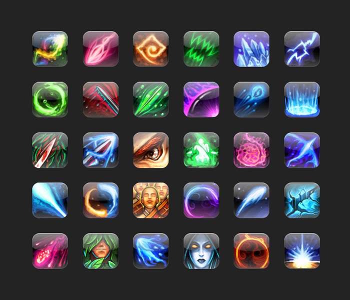 GAME SKILL ICONS FREEBIE