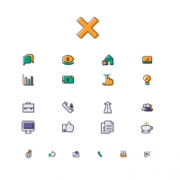 FREE FINANCE SERVICES ICONS