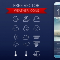 15 FREE WEATHER ICONS