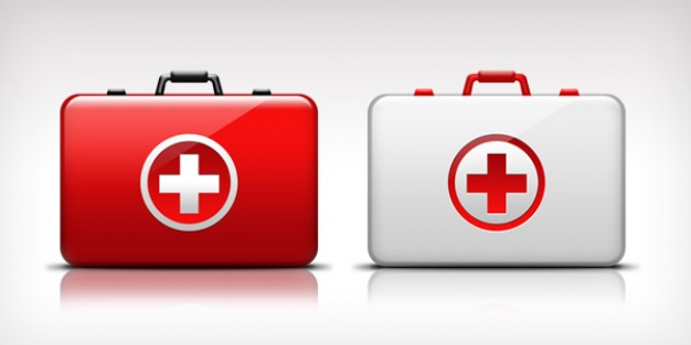 First Aid Medical Kit Icon