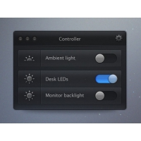Creative Brightness Regulator PSD