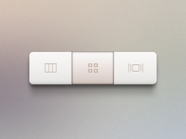 Rectangular Buttons