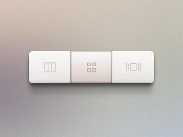 Rectangular Buttons
