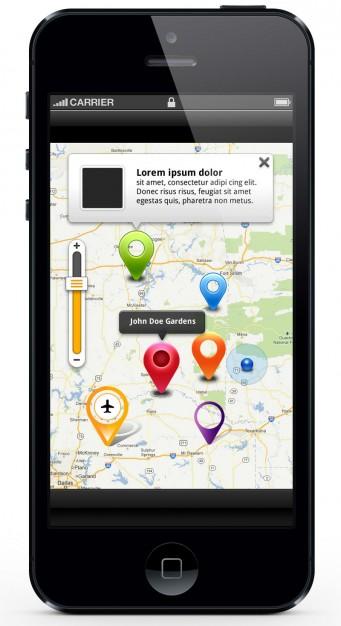 Map Location UI kit