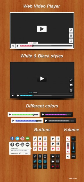 Wood Video Player