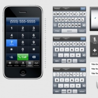 Iphone Interfaces And Parts Template