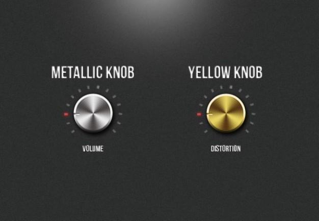 Button Element Knob UI