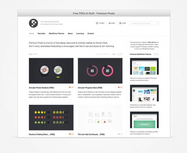 Simple Browser Surround (PSD)