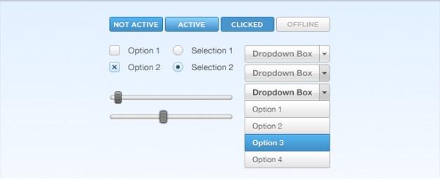 Button Checkbox Dropdown