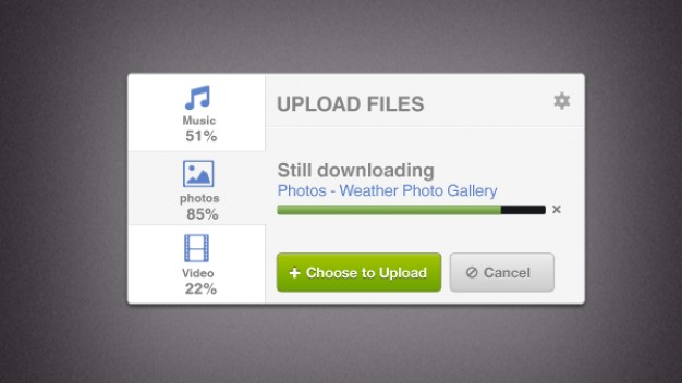 File Upload Interface