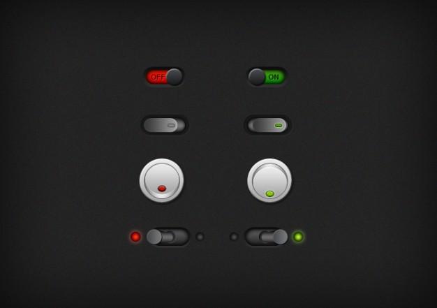 Buttons Dark