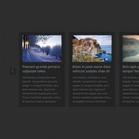 Horizontal News Carousel HTML