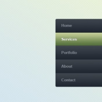 Website Navigation Menu Templates