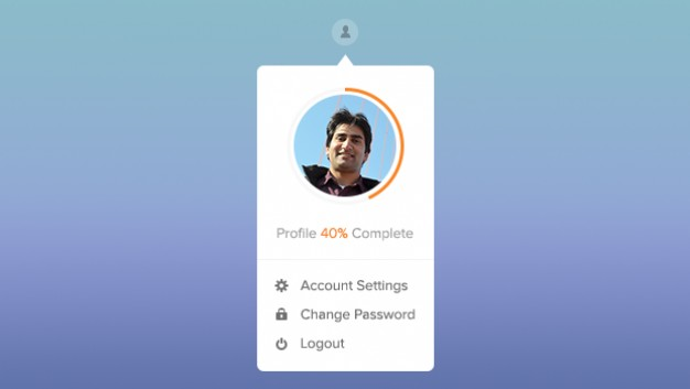 Simple User Profile Widget