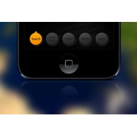 IOS Menu Buttons PSD Material