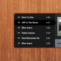 Wood Music Player