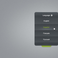Language Selector Combo Box