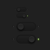Dark Essential Witches & Toggles PSD