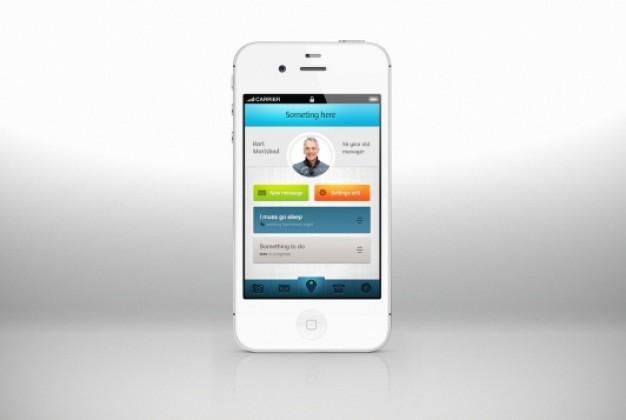 Cool App Design Dor IPhone