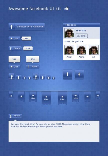 Alternative Facebook UI
