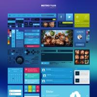 Metro Tiles UI Kit