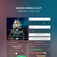 Shapes Mobile UI Kit
