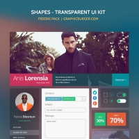 Shapes Transparent UI Kit