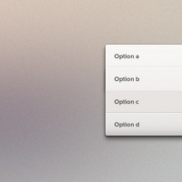 Dropdown Dropdown List Psd