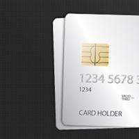 Credit Card PSD Template