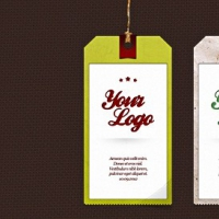 VLabel PSD Set – 3 Tag Templates