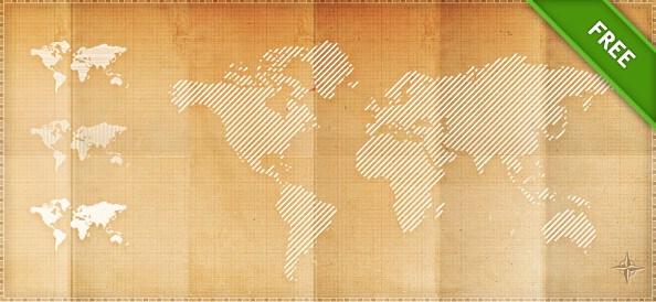PSD Pixel World Maps