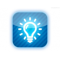 Light Bulb Button (PSD)