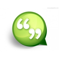 Quotes Icon PSD