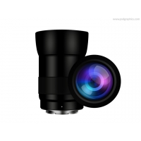 Mirrorless Camera Lens Icon