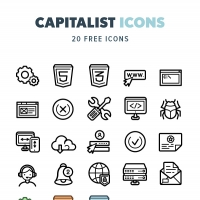 Capitalist Icons – Free Sample