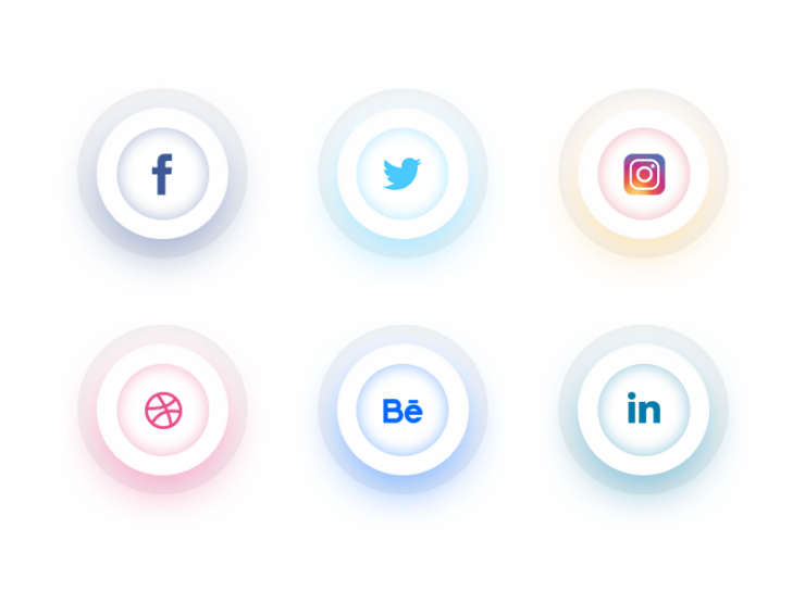 Clean Social Icons Free