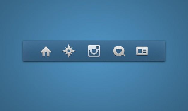 Icon Set Icons Instagram