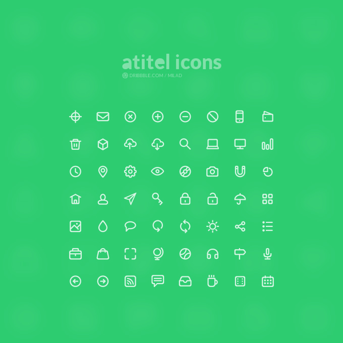 56 High-Quality Icons
