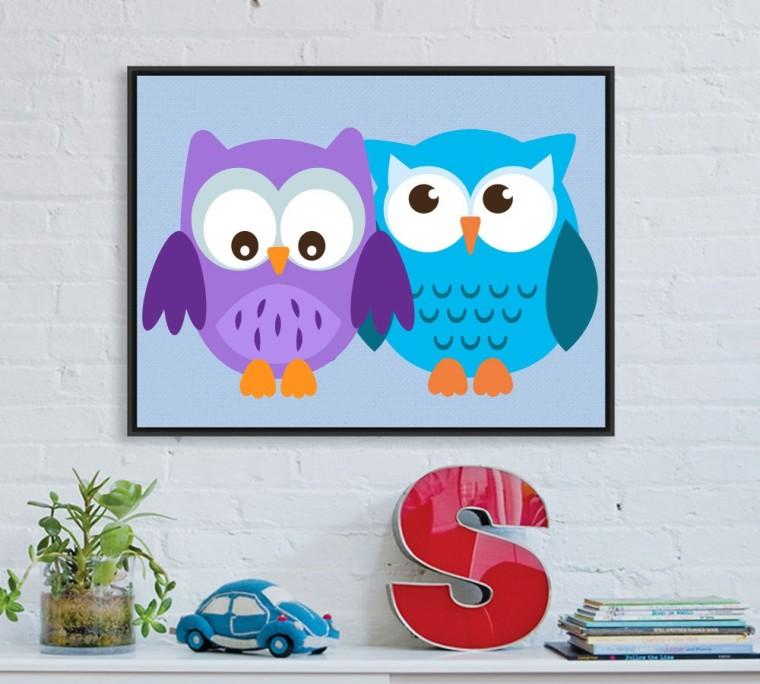 WOODLAND OWLS CLIPART SET