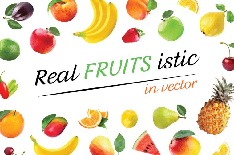 FRUITS ILLUSTRATION FREEBIE