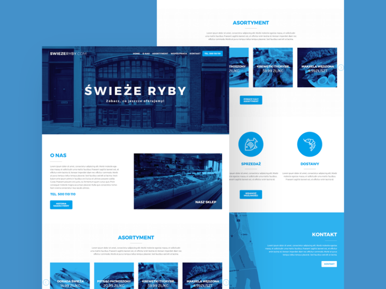 FRESHY WEBSITE TEMPLATE