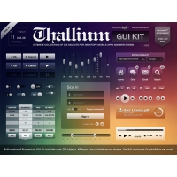 GUI Kit Free PSD For Apps And Web Designers