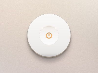 Switch Off Button Free PSD